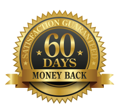 60 days guarantee seal