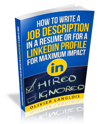 how to write a job description in a resume or for a linkedin profile for a MAXIMUM IMPACT