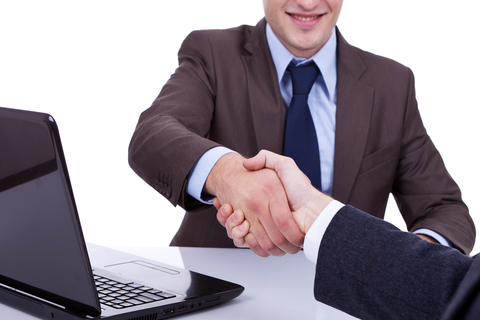 handshake after a deal