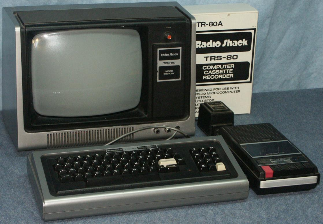 The TRS-80 from my childhood